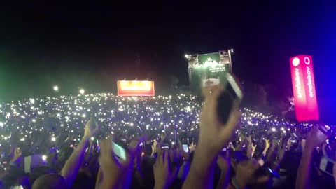 Impressive Effect Made By Lights On Justin Timberlake On Rock In Rio Lisboa 2014
