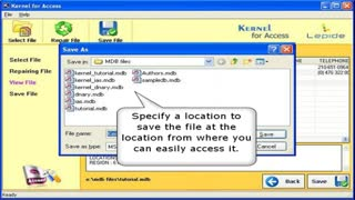 compact and repair access 2007 - Video