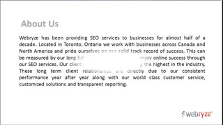 SEO Company Canada - Video