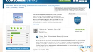 Easy Rest Bed Reviews – Why Easy Rest Received Almost 5-Star Satisfaction Ratings? - Video
