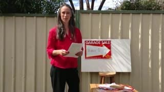 How to Hold a Garage Sale in Australia – Great Garage Sales - Video