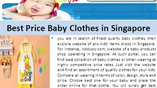 Find Amazing Collection Baby Products Online at Kiddysky - Video
