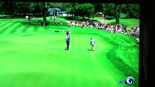 Jack Nicklaus 102' putt at The Golf Club at Harbor Shores - Video