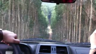 Intensive Downhill Caught Inside a Jeep! - Video