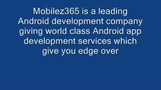 Android Game Development Company - Video
