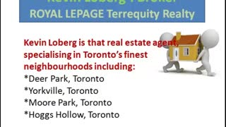 Kevin Loberg Real Estate Luxury Homes Toronto - Video
