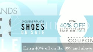 Brands Shoes on sale (Men's) - Extra 40% off - Video
