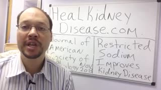Chronic Kidney Disease Diet - Video