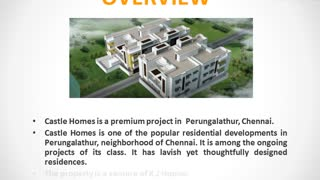 Castle Homes Chennai | Castle Homes Perungalathur, Chennai | CommonFloor - Video