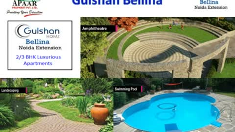 Gulshan Bellina Noida Extension +91 – 9560535989 Gulshan new projects