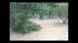 Flood in Zenica - Bosnia and Herzegovina - Video