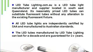 LED Tube Lighting- A Leading Provider of LED Tube Lights in Brisbane - Video