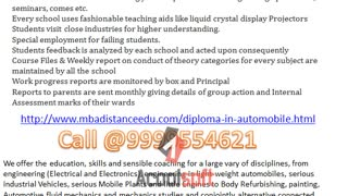 Best Institute  Diploma in automobile in Ghaziabad, Part Time Diploma in automobile in Delhi - Video