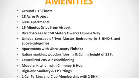 Vatika One Express City Gurgaon