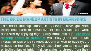 Get Best Quality Bridal Make Up and Hair Services in Berkshire - Video