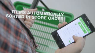 Shopping List app - Listonic - Video